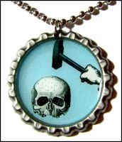 the sweetest silence_necklace by bleedsopretty