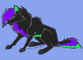 Wolf Adopt- Name a Price [CLOSED] by AvalaAdopts