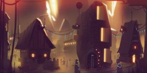 Sand Town by Ullbors