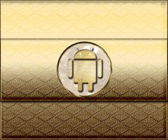 Gold android. by Sony-Viao