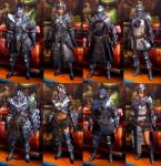 Dara Amadyura Armors Group by Khasdannyanlord