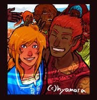 tell yourself it's never gonna happen again by hyamara
