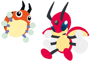 Ledyba and Ledian Base