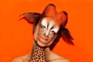 face painting : Giraffe by LauraLeone