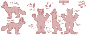 YCH Deluxe Reference Sheet AUCTION .:CLOSED:. by CassMutt