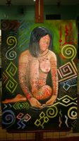 Indigenous Nature 2015 - oil on canvas. by Oscarliima