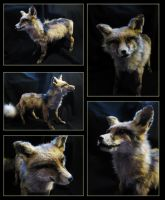 Freack the red mount fox by WoroTax