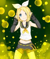 kagamine rin by valithax12