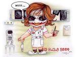 Nurse Joker Chibi...kawa-hii by tavington