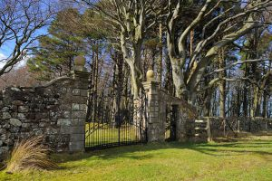 Bavelaw Castle Gate by WestLothian