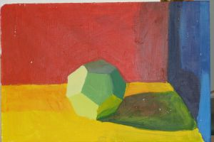 Dodecahedron Still Life by Heart-of-Amethyst
