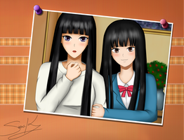 Sunako and Sawako by Suna004