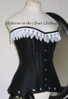 Edwardian corset by BlackvelvetSITC