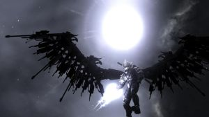 Fallen Death Angel by R0BES21