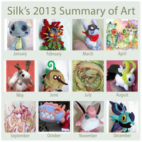 Silk's 2013 art summary by scilk