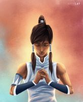 Avatar Korra by Artylay