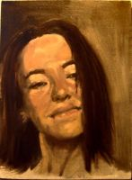 Self-Portrait_Oil by StudioSmugbug