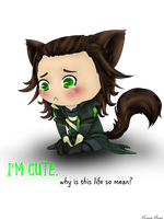 Loki: Im cute by KonanBases