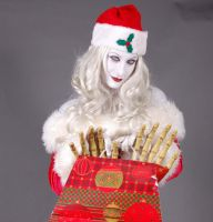 Lady Death Xmas by MLeighS