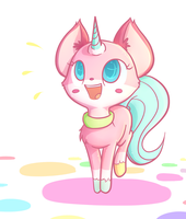 Unikitty by Ranoutofideas