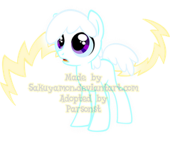 Mystery Evolving Pony Adoptables -Yellow Stage1- by Sakuyamon