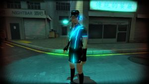 Tron Femscout (With sceen Effect) by Mitziwho