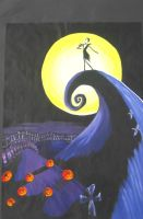The Nightmare Before Christmas by Luienmera