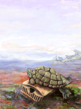 Turtle On The Chest by RSA91