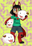 Karushi with Poros by NekoMichaels