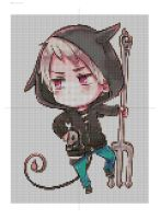 Prussia Cross Stitch Pattern by ChandrakantaAvani