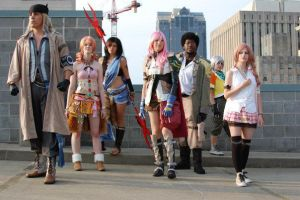 FFXIII on DA roof :D by TewiBewi