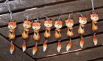 foxes everywhere by PikselForest