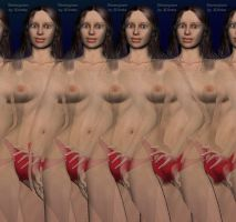 Magic Eye Vicky. Stereogram by 3Dimka