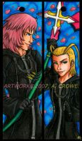 Marly Larxy Bookmarks by psycrowe