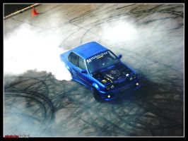 BMW E30 Burnout by LKS1988