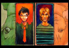 Billie - Beck Combo by ZombieKate