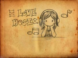 I Love Music by ningyohime07