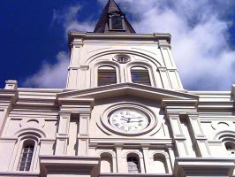 St. Louis Cathedral_ Look Up. by twofortheprice