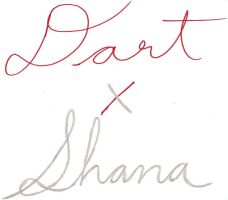 D x S's Marriage Signatures by HolyCross9