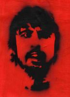 Dave Grohl Stencil by Chestbearman
