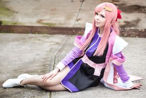 [Mobile Suit Gundam SEED] Lacus Clyne 2 by rinoafatali