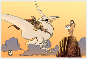 A Tribute to Moebius (full colour) by Arianod