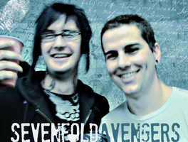 sevenfold avengers: matt n jim by inkkah