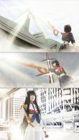 Come to fight ! Kiryuin Satsuki by Inushio