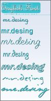 English Font Good by MR-Desing