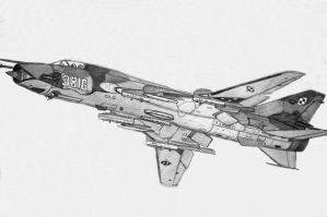 Su-22 Polish Airforce by stachu96