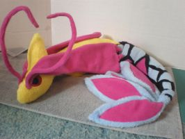 Milotic-Pokemon Plush by cosmiccrittercrafts
