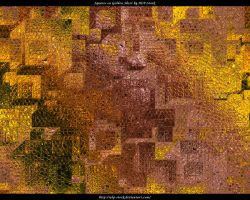 Squares on Golden Sheet by ALP-Stock