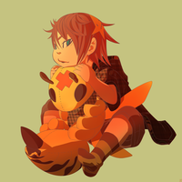 CHILLING WITH MY WASP PLUSHY by phation