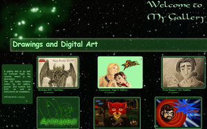 Emerald Night Sky Gallery Skin by JeffrettaLyn